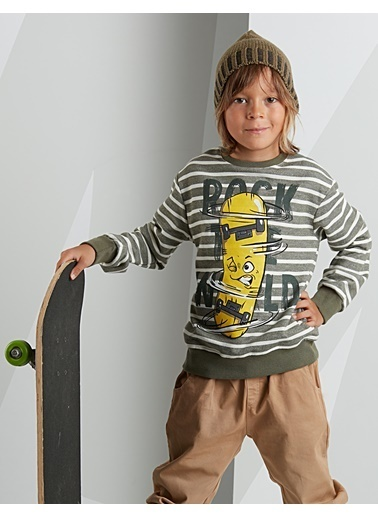 Mushi Sweatshirt Yeşil